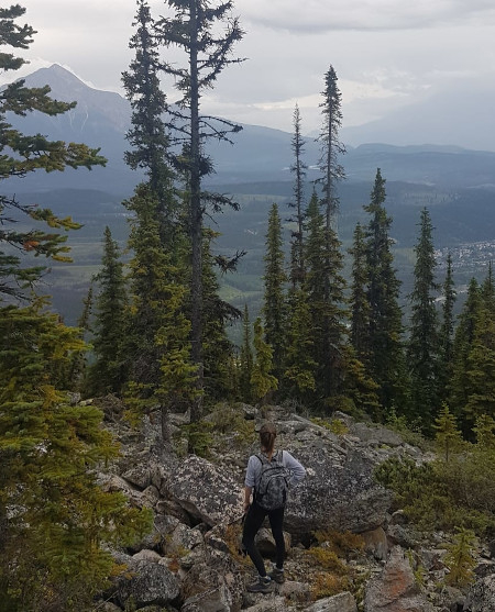 Hiking in Western Canada